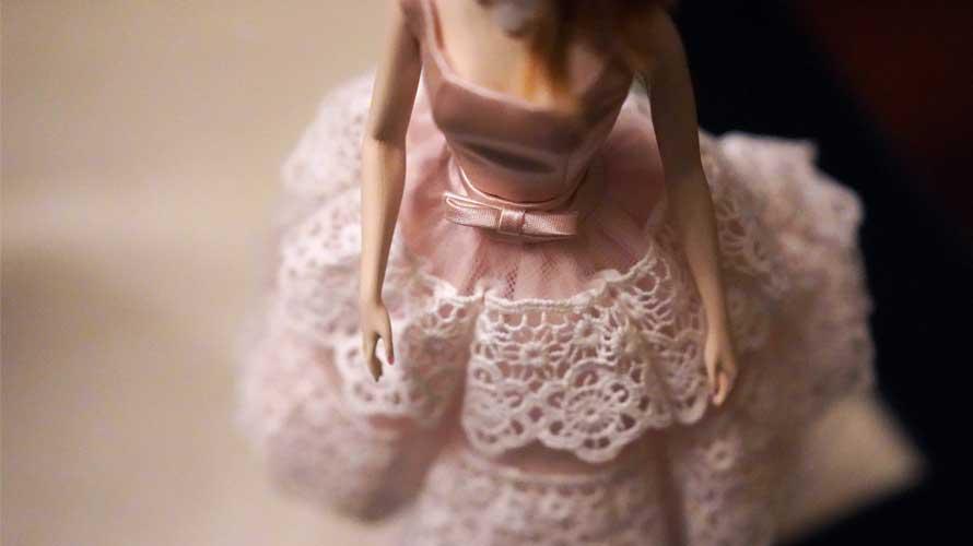 リカちゃん用ワンピース・ドレスの型紙と作り方